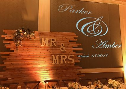Wedding Name In Lights